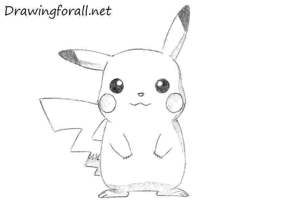 pikachu sketch how to draw pikachu from pokémon character youtube pikachu sketch