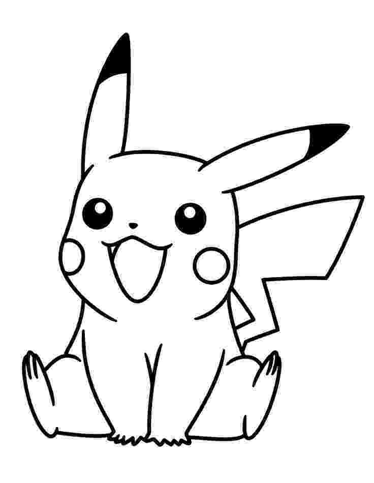 pikachu sketch how to draw pikachu from pokemon drawingforallnet sketch pikachu 1 1