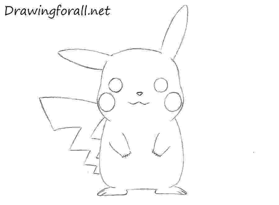 pikachu sketch how to draw pikachu step by step easy youtube pikachu sketch