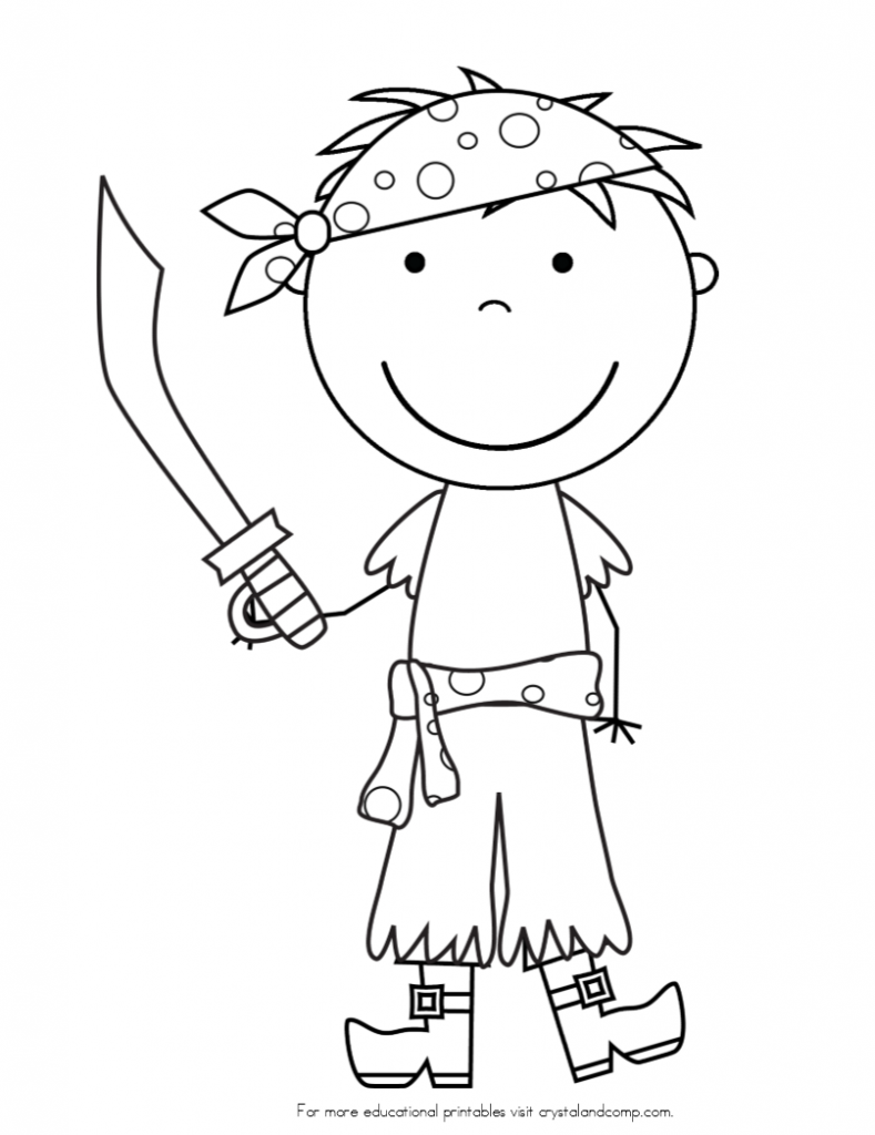 pirate coloring pages for kids coloring page pirate coloring pages pirate crafts kids for pages coloring pirate