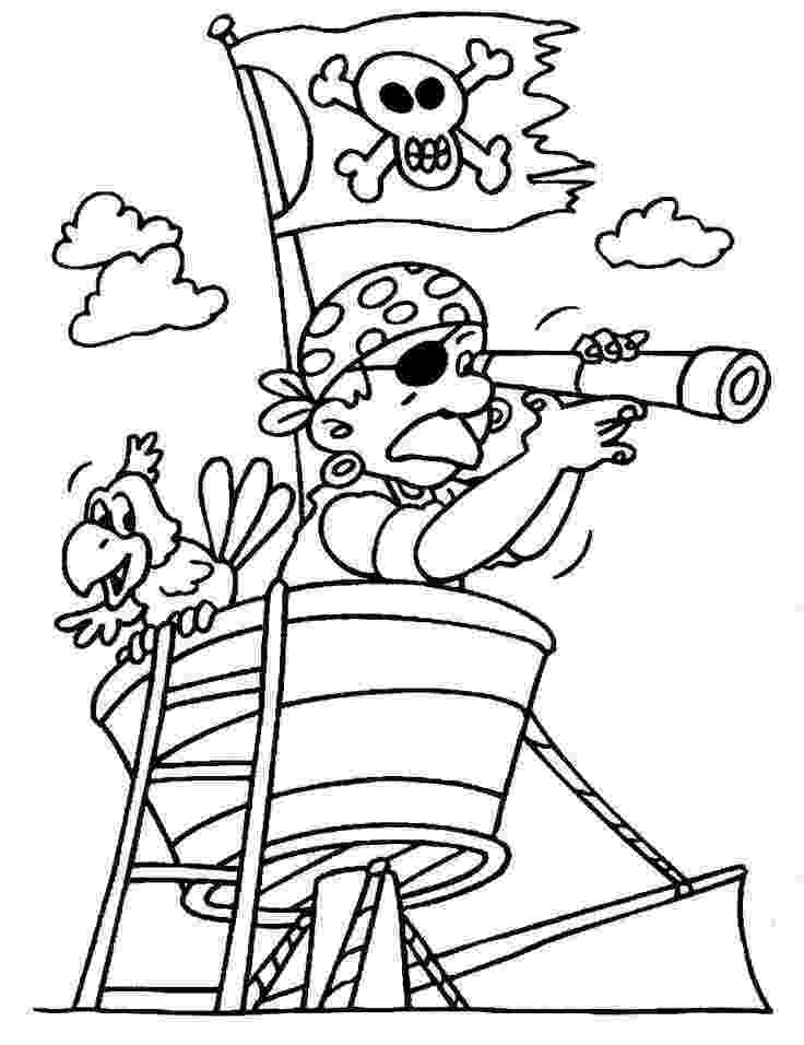 pirate coloring pages for kids free printable pirate coloring pages for kids pirate kids for coloring pages 1 1