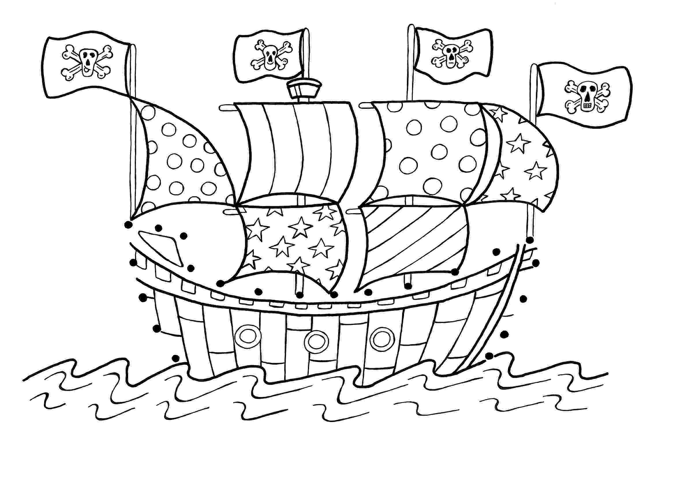 pirate coloring pages for kids pirate coloring pages hellokidscom for pirate kids coloring pages