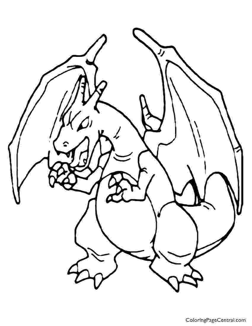 pokemon charizard coloring pages 37 best images about pokemon coloring pages on pinterest coloring pokemon charizard pages