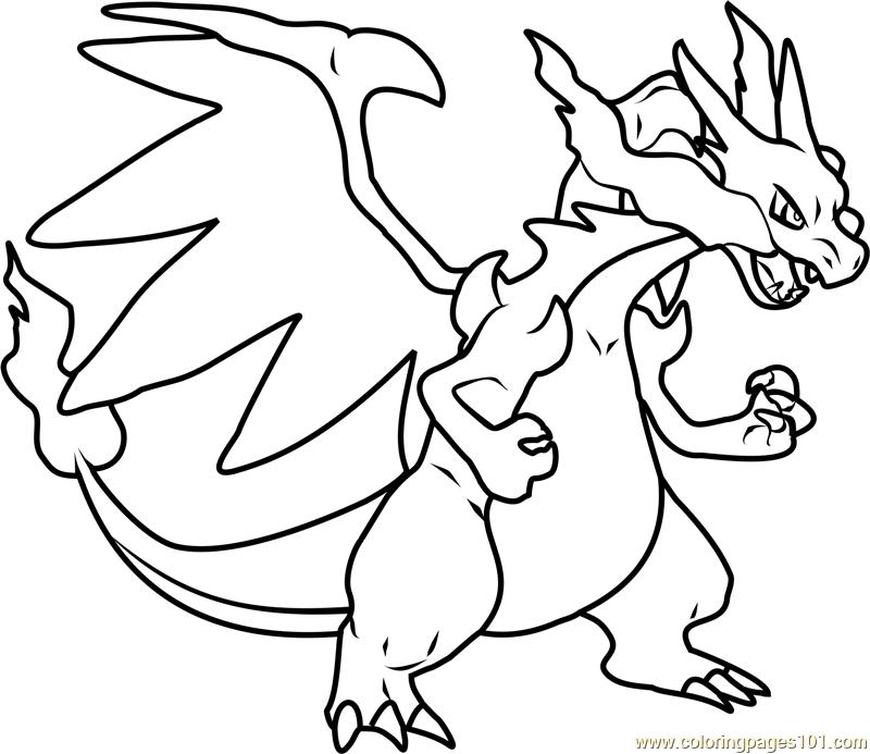 pokemon charizard coloring pages mega charizard x pokemon printable coloring page for kids charizard coloring pages pokemon