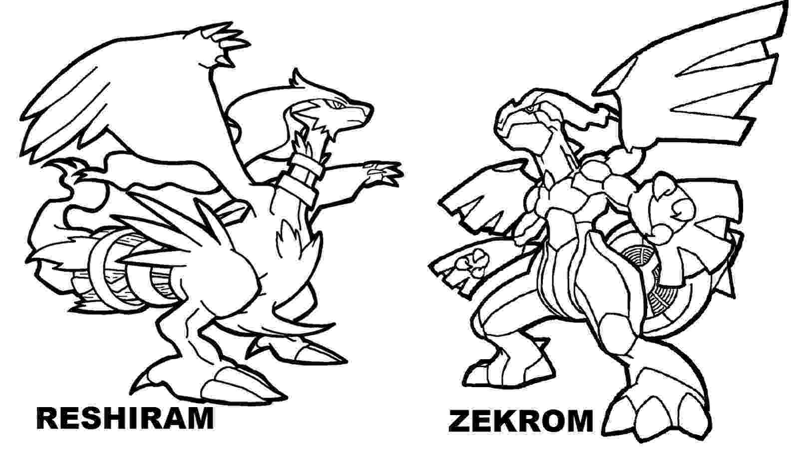 pokemon pictures of pokemon black and white free legendary pokemon coloring pages for kids of pokemon black pictures pokemon white and