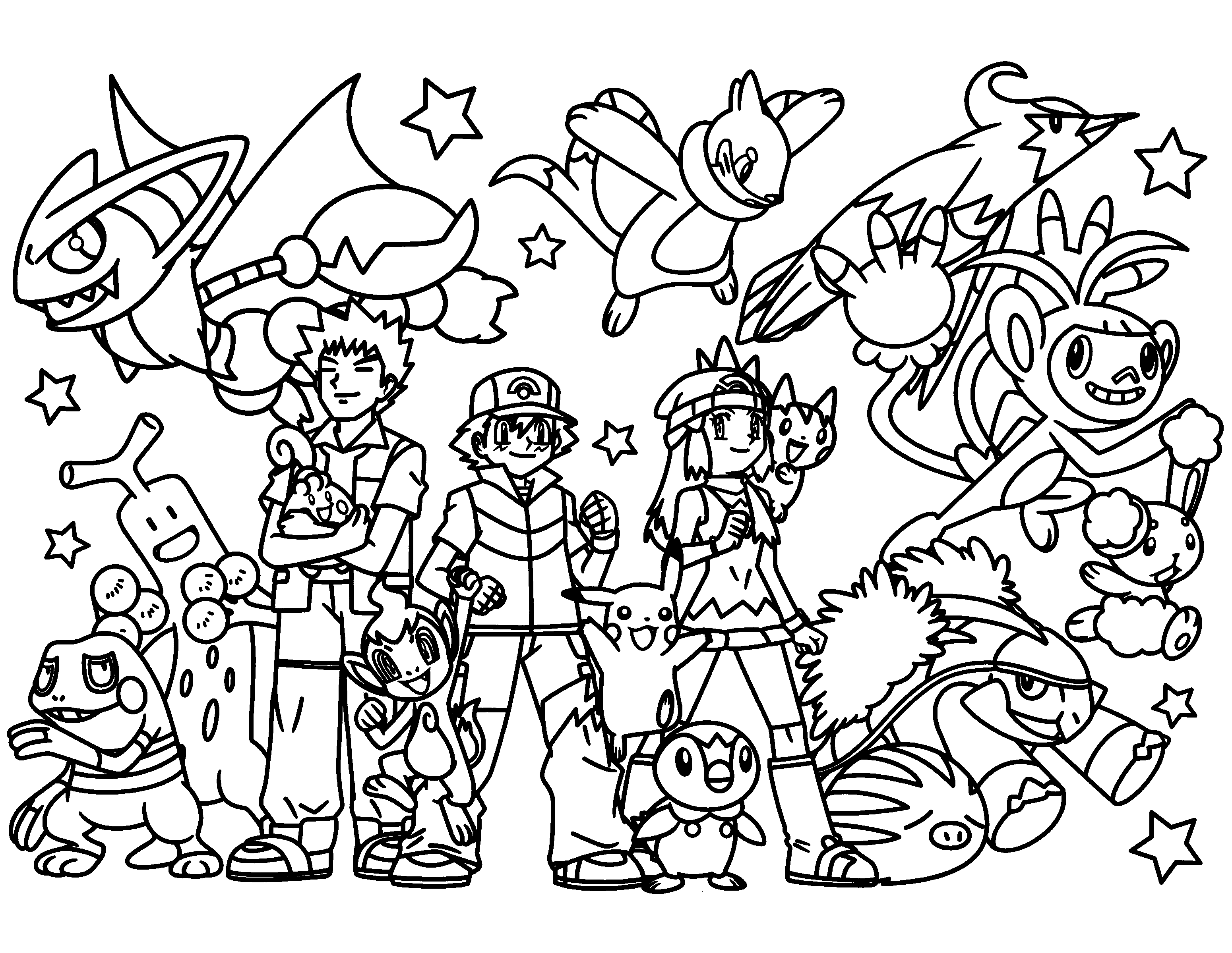 pokemon printable colouring pages pokemon coloring pages join your favorite pokemon on an pokemon pages colouring printable