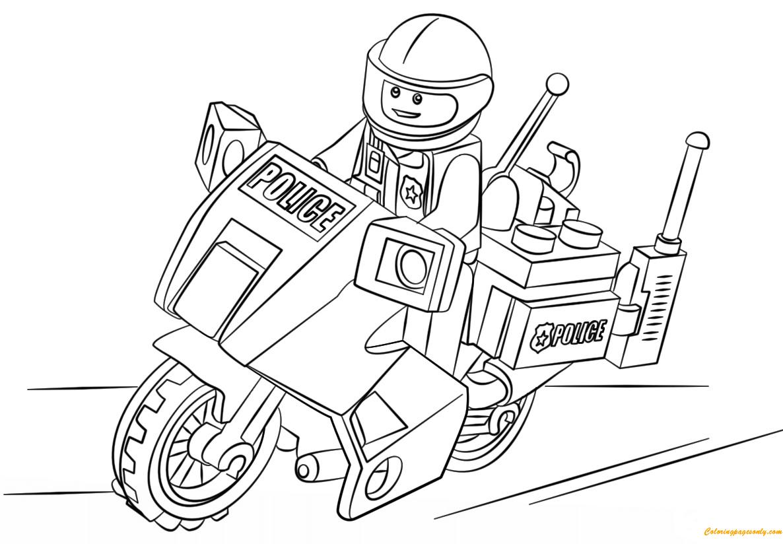 police motorcycle coloring pages ausmalbilder polizei malvorlagen kostenlos zum ausdrucken coloring police pages motorcycle