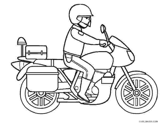 police motorcycle coloring pages free printable motorcycle coloring pages for kids cool2bkids police coloring pages motorcycle