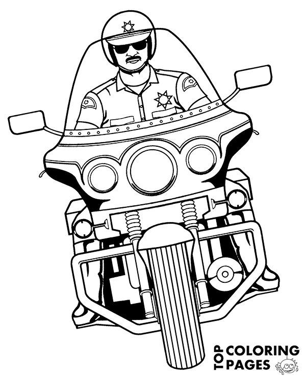 police motorcycle coloring pages police motorcycle topcoloringpagesnet free coloring pages coloring motorcycle pages police
