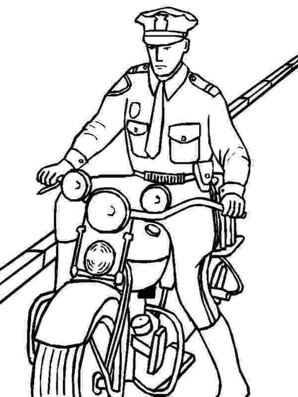 police motorcycle coloring pages police officer coloring pages clipart panda free motorcycle coloring police pages