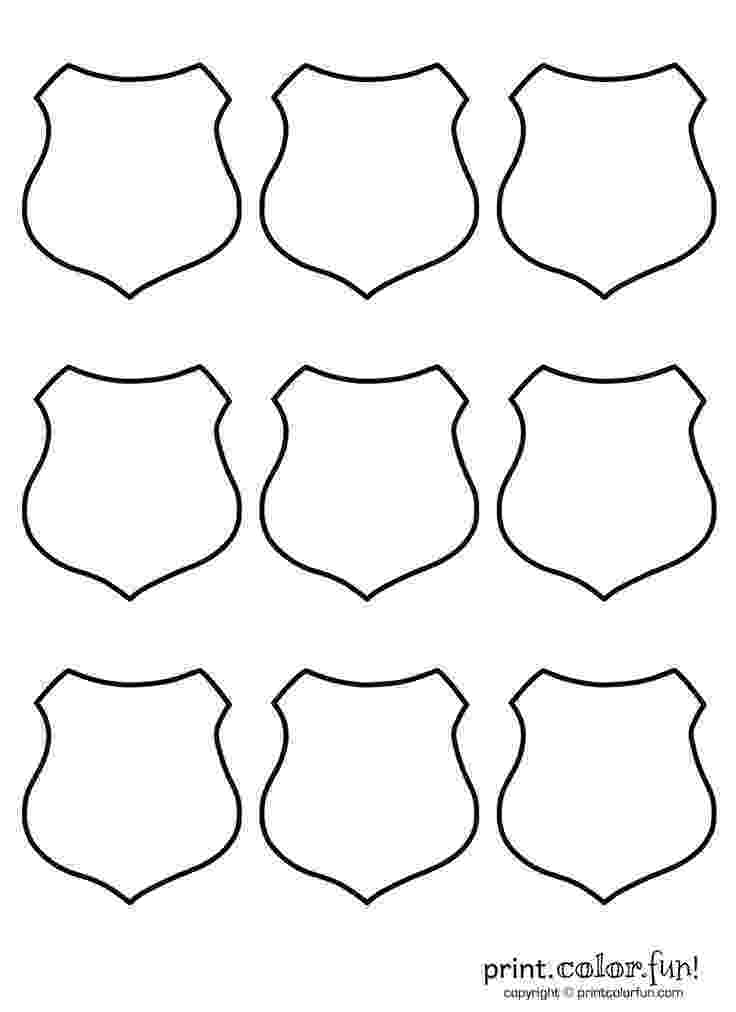 police officer badge coloring page free police badge template download free clip art free badge coloring officer police page