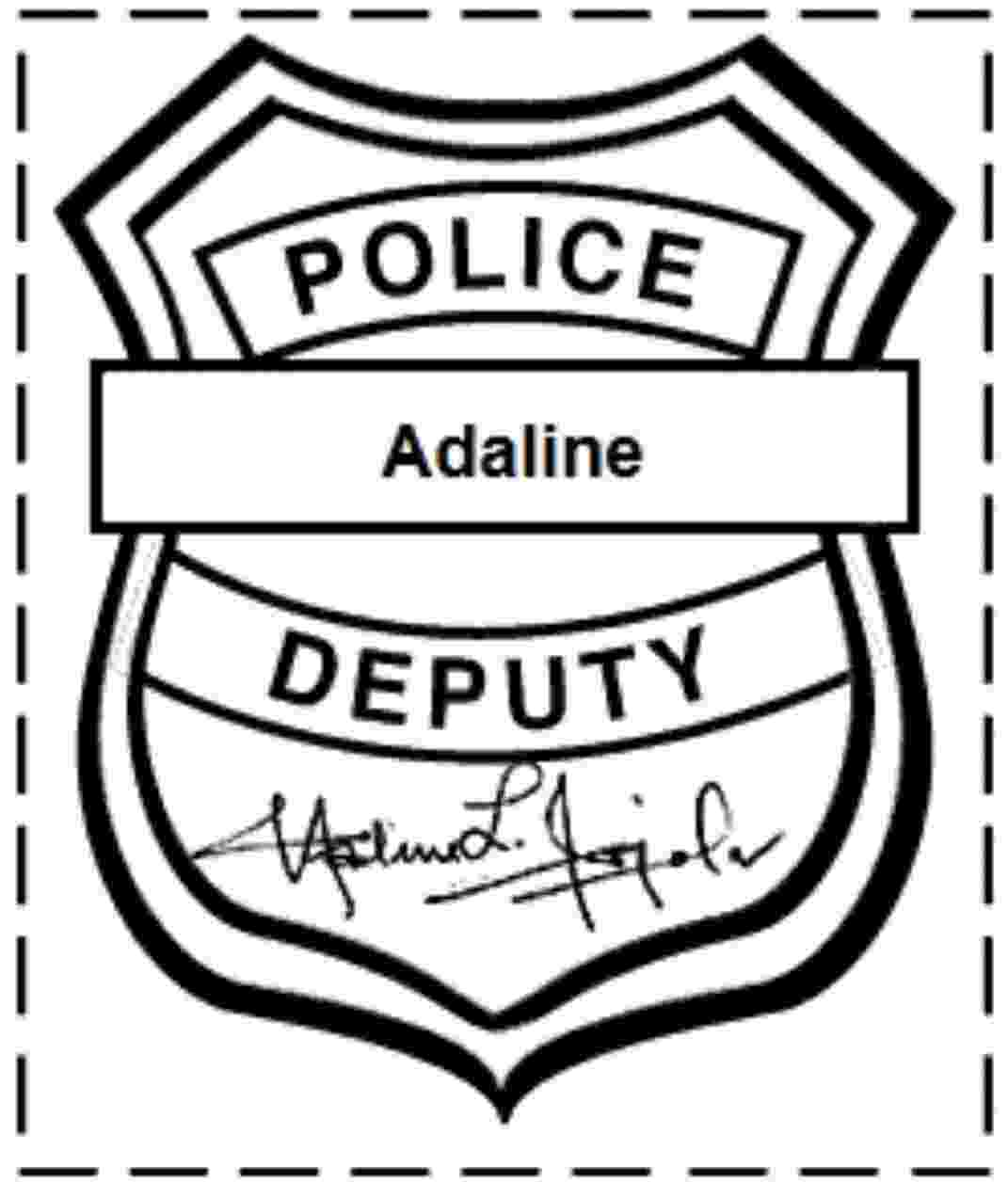 police officer badge coloring page police badge coloring page at getcoloringscom free page police officer badge coloring