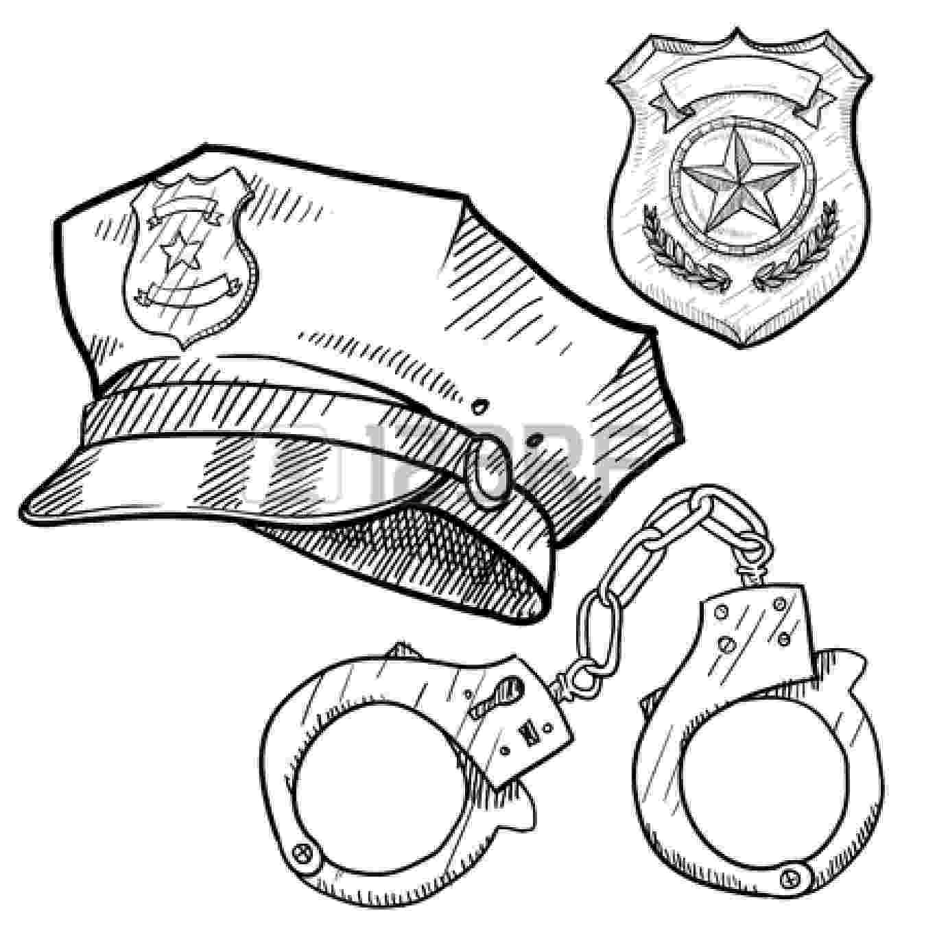 police officer badge coloring page police officer coloring pages clipart panda free badge officer police page coloring