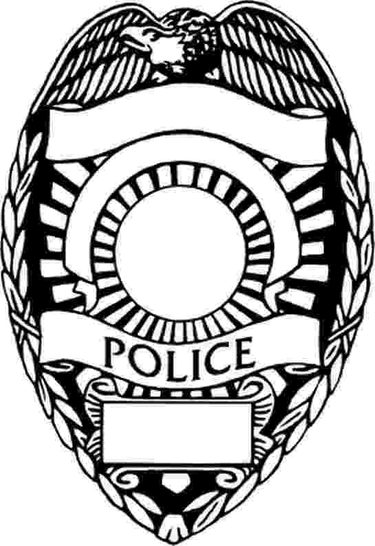 police officer badge coloring page printable police badge free download on clipartmag officer badge coloring page police