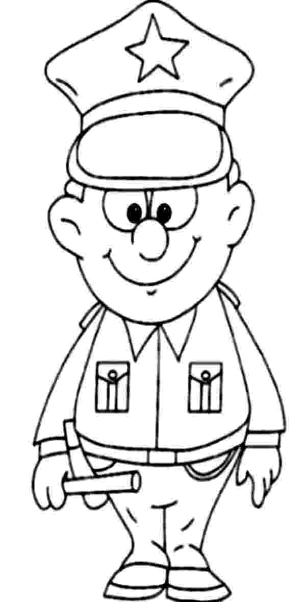 police pictures to color a strong policeman coloring for kids february2014 pictures police color to