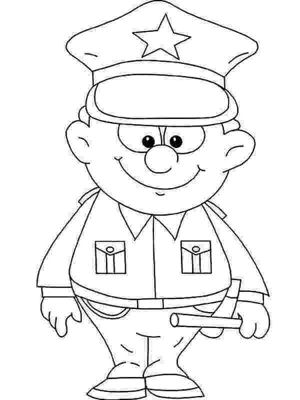 police pictures to color free printable policeman coloring pages for kids to pictures police color