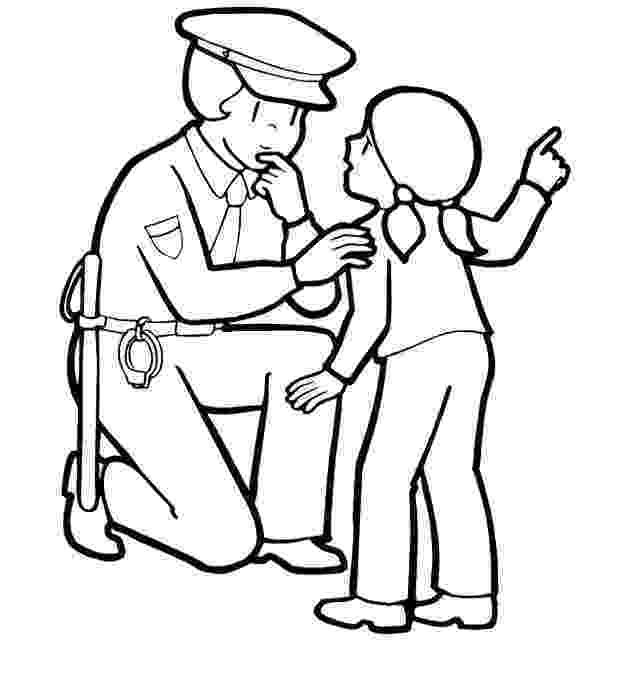 police pictures to color how to draw a police badge clipartsco police to pictures color