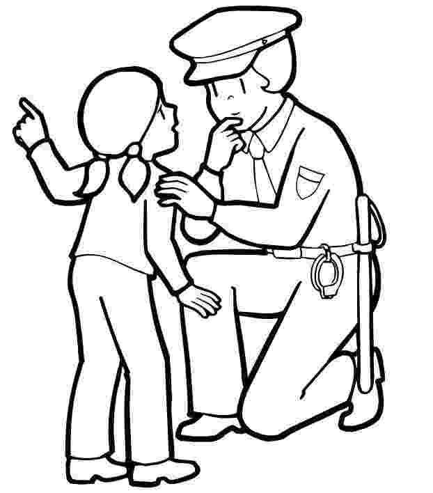 police pictures to color police officer clipart black and white clipart panda pictures police to color