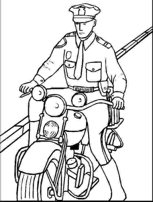 police pictures to color police officer coloring book page coloring pages pictures police color to