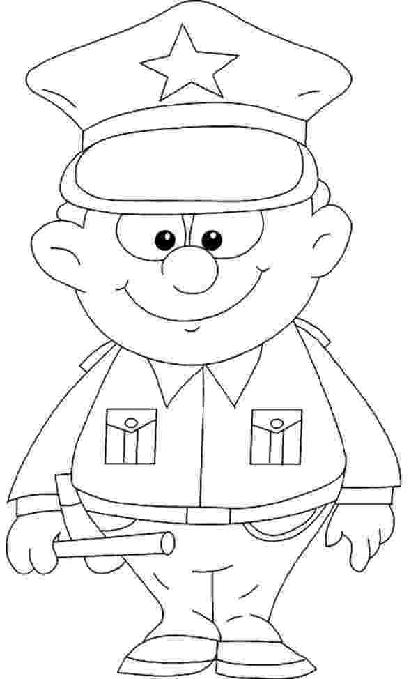 police pictures to color professions coloring pages coloring home pictures color to police