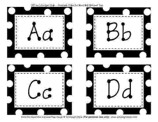 polka dot letters polka dot alphabet coloring polka letters dot 1 1