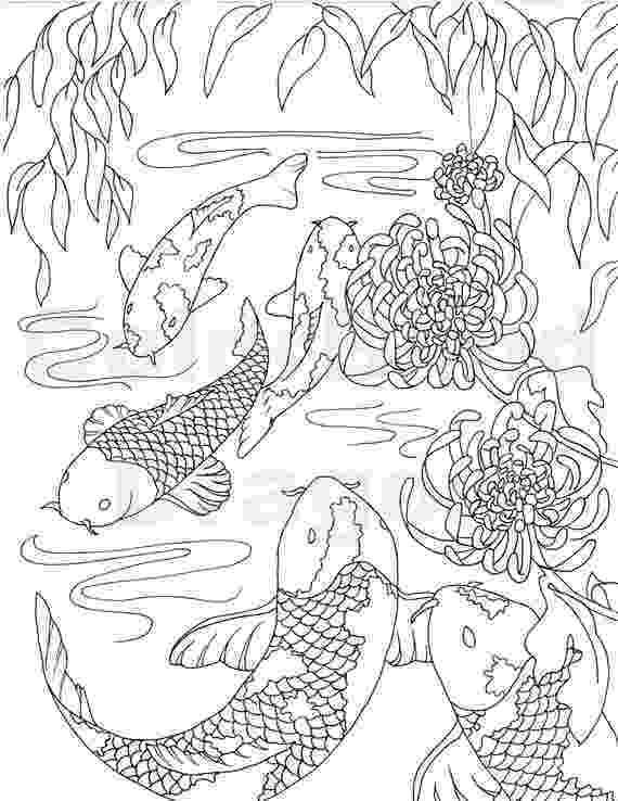 pond coloring page fish coloring page coloring pages koi coloring by coloring pond page
