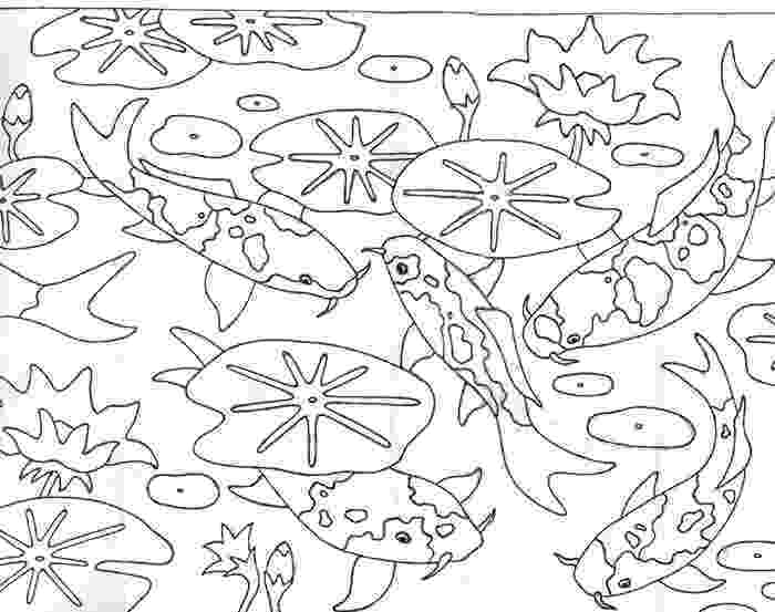 pond coloring page rug patterns page 9 page pond coloring