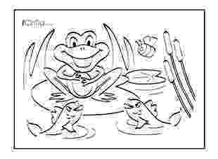 pond pictures to color sea turtle in a ponds with a frog coloring page download color pictures pond to