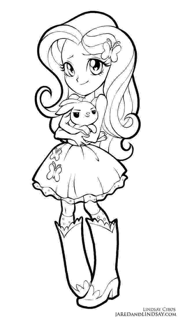 pony coloring pages for girls fluttershy equestria girls by lcibos mermaid coloring pony girls for pages coloring