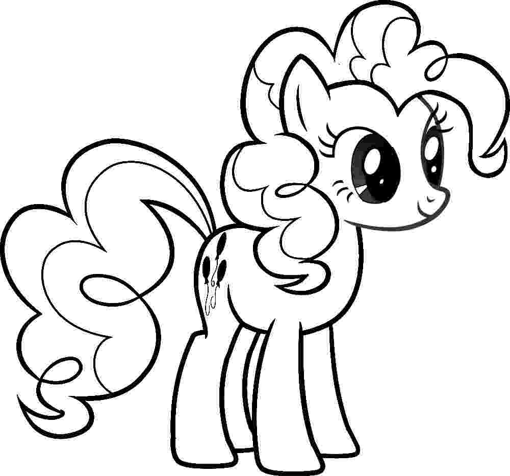 pony coloring pages for girls my little pony coloring pages print and colorcom for girls pony coloring pages