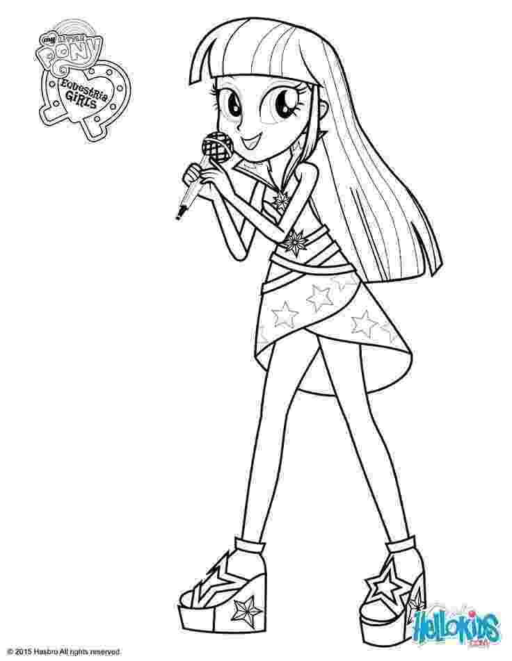 pony coloring pages for girls my little pony equestria girls coloring pages twilight for girls coloring pony pages