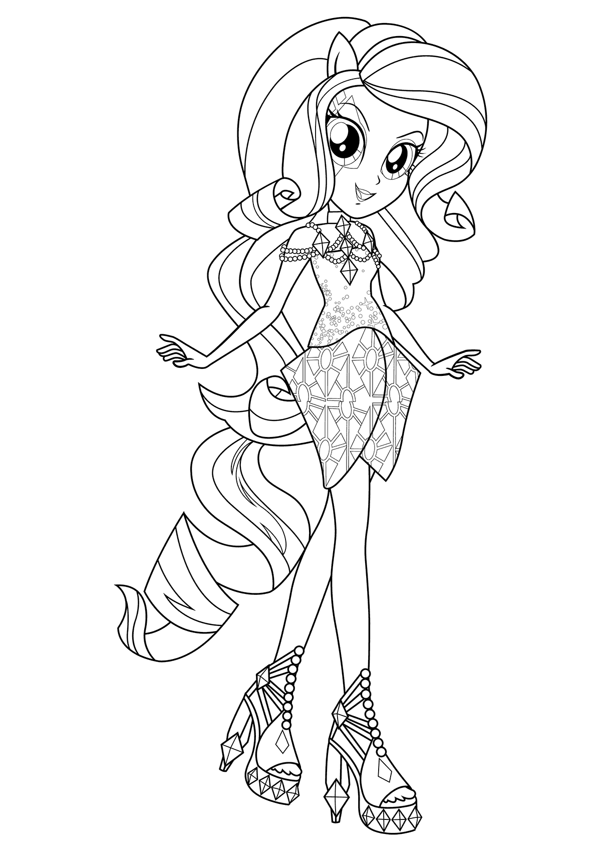pony coloring pages for girls princess alicorn coloring page free printable coloring pages girls coloring pages for pony