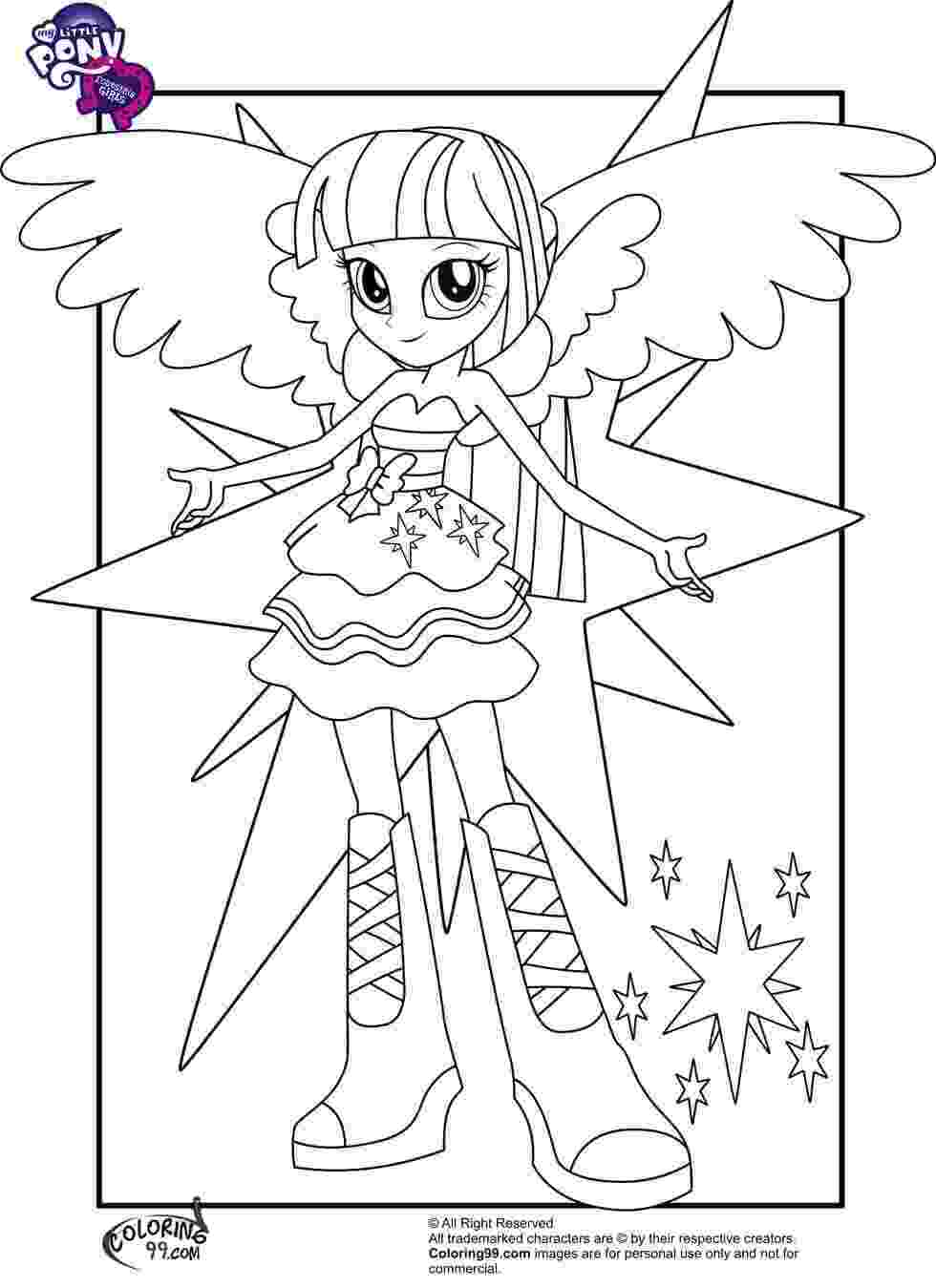 pony coloring pages for girls print equestria girls coloring page girls pages coloring pony for