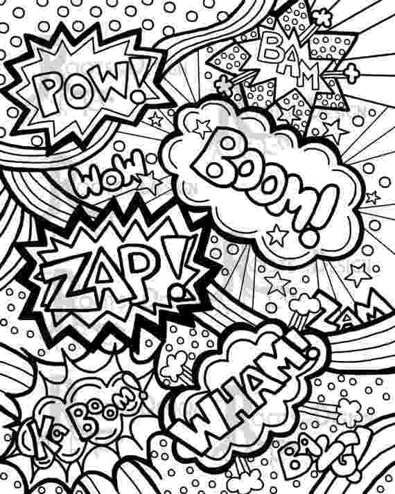 pop art coloring pages pop art coloring page art projects for kids pages coloring pop art