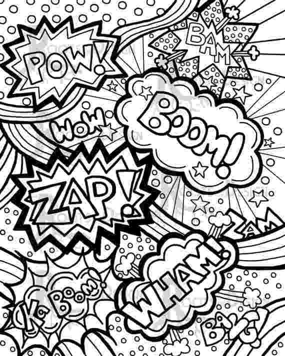 pop art coloring pages pop art coloring page art projects for kids pages coloring pop art