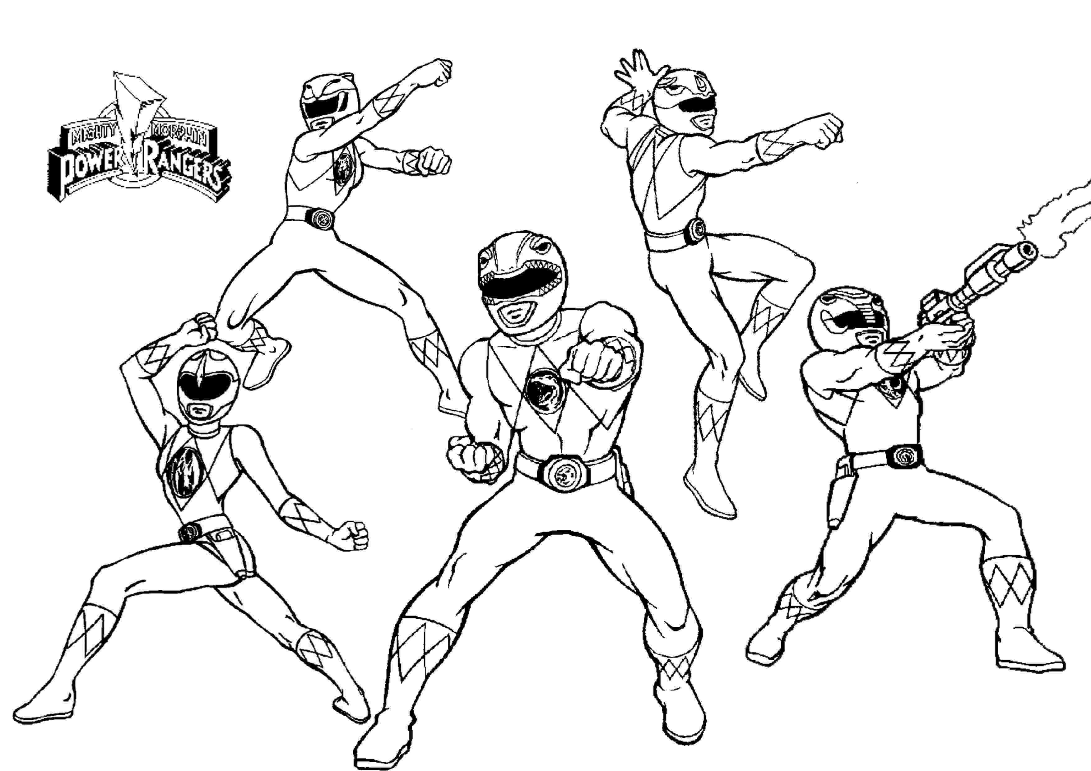 power rangers coloring book mmpr coloring pages coloring home rangers coloring book power