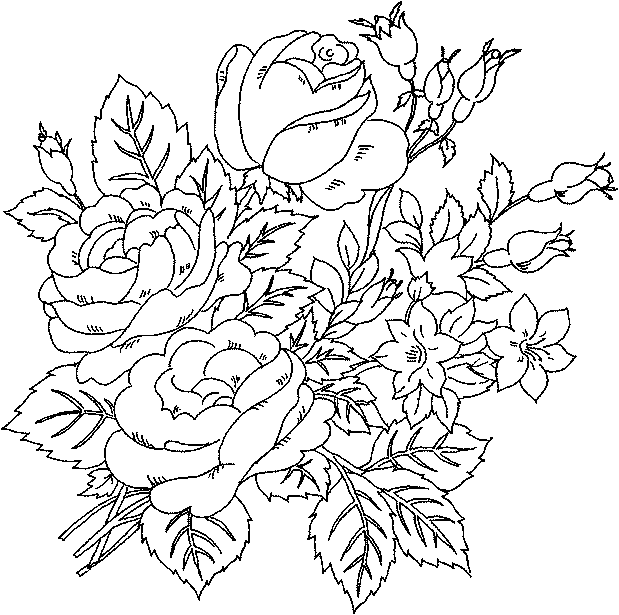 pretty flowers coloring pages flower coloring pages choosboox pages coloring flowers pretty
