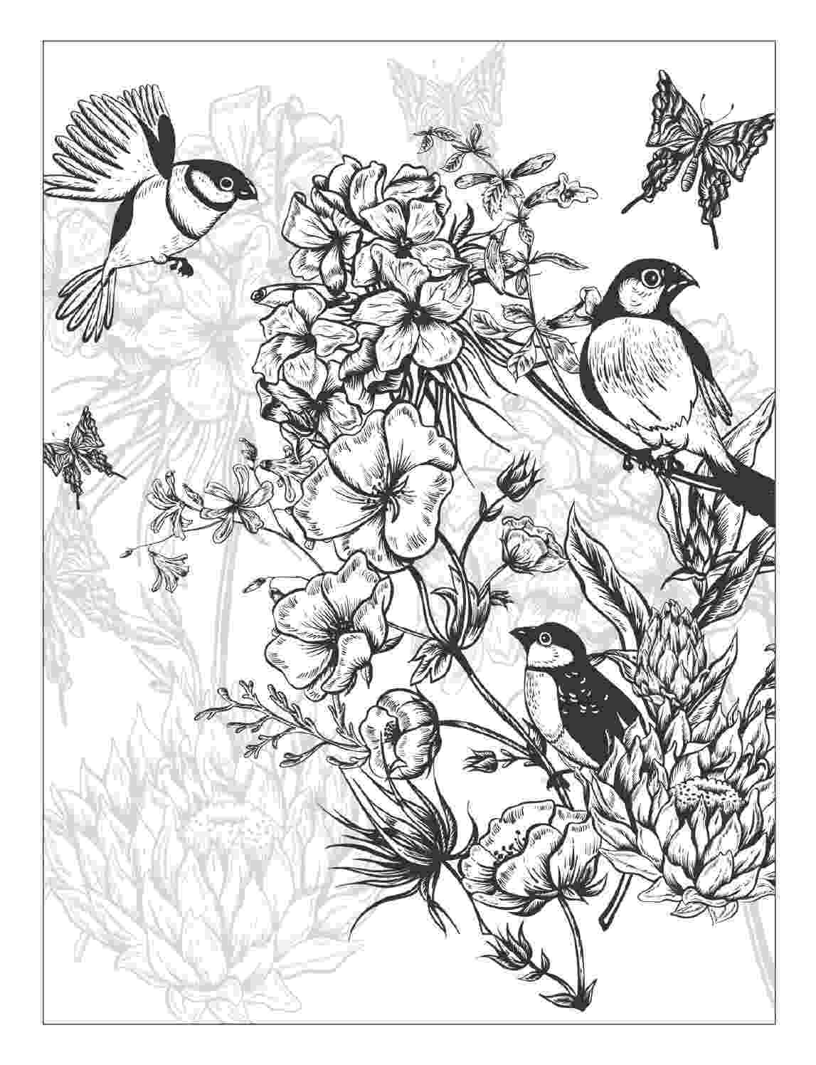 pretty flowers coloring pages free spring coloring pages for adults the country chic pages coloring flowers pretty