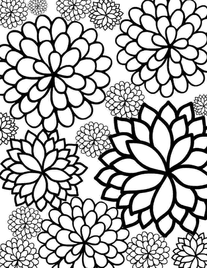 pretty flowers coloring pages pretty classical basket of flowers coloring pages best coloring flowers pages pretty