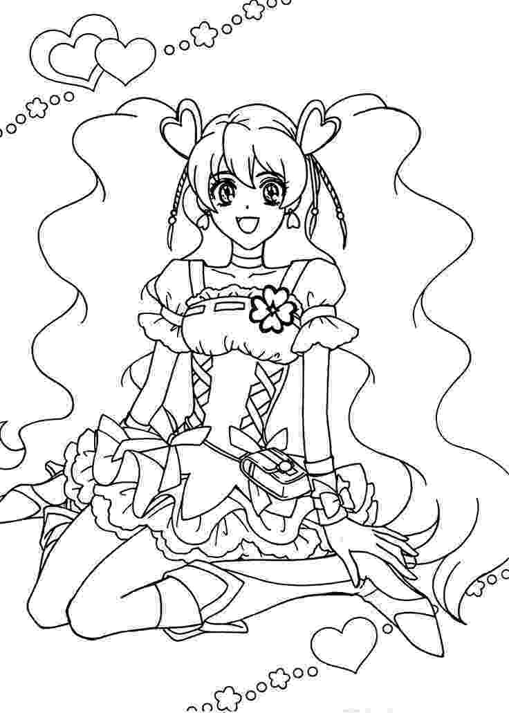 pretty pictures to color digital stampstar pretty girl coloring page big eyed by pictures to color pretty