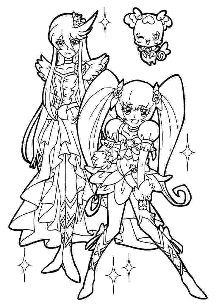pretty pictures to color pretty cure coloring pages for girls printable free to pretty pictures color
