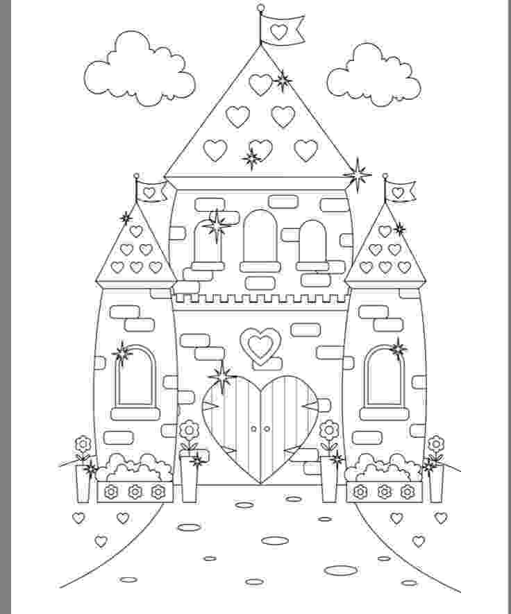 princess castle colouring pages printable castle coloring pages for kids cool2bkids castle princess colouring pages