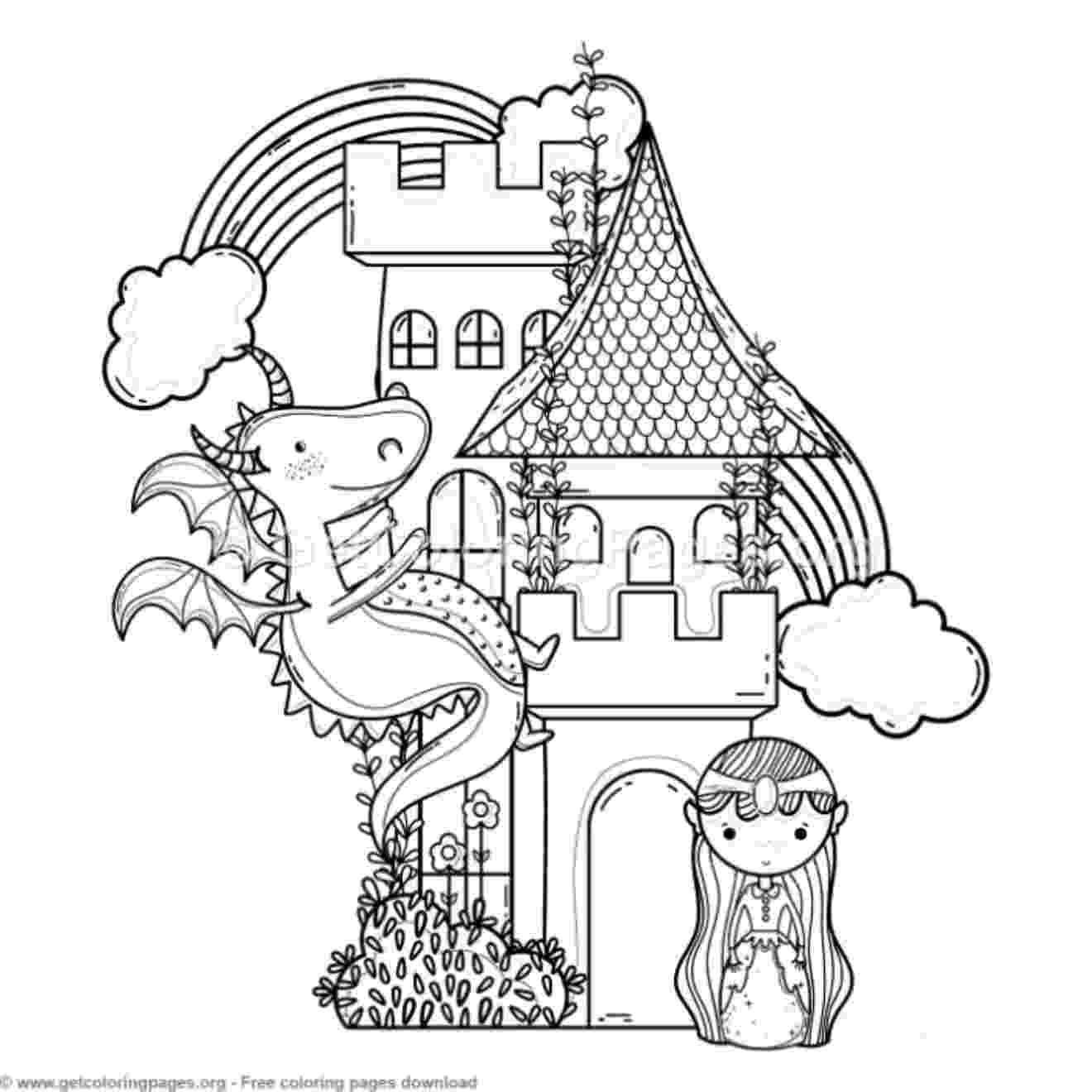 princess castle colouring pages simple castle coloring pages castle coloring sheet pages princess castle colouring