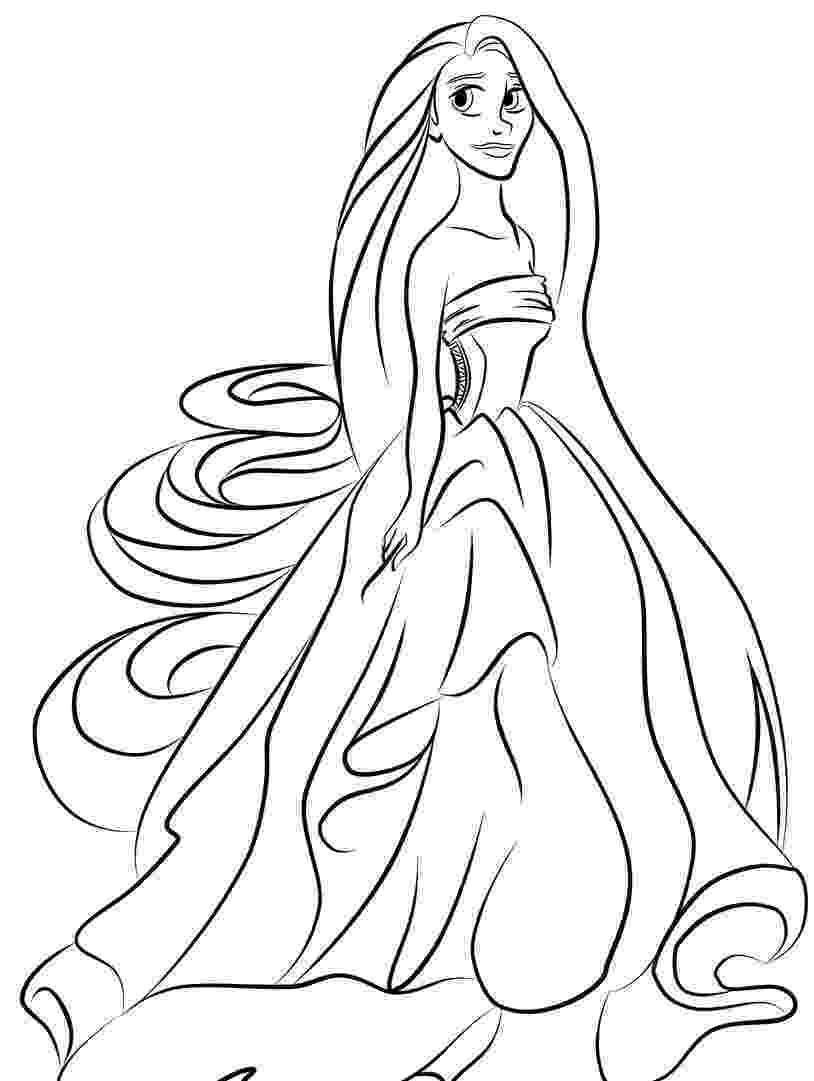princess free coloring princess coloring pages princess free coloring 1 1