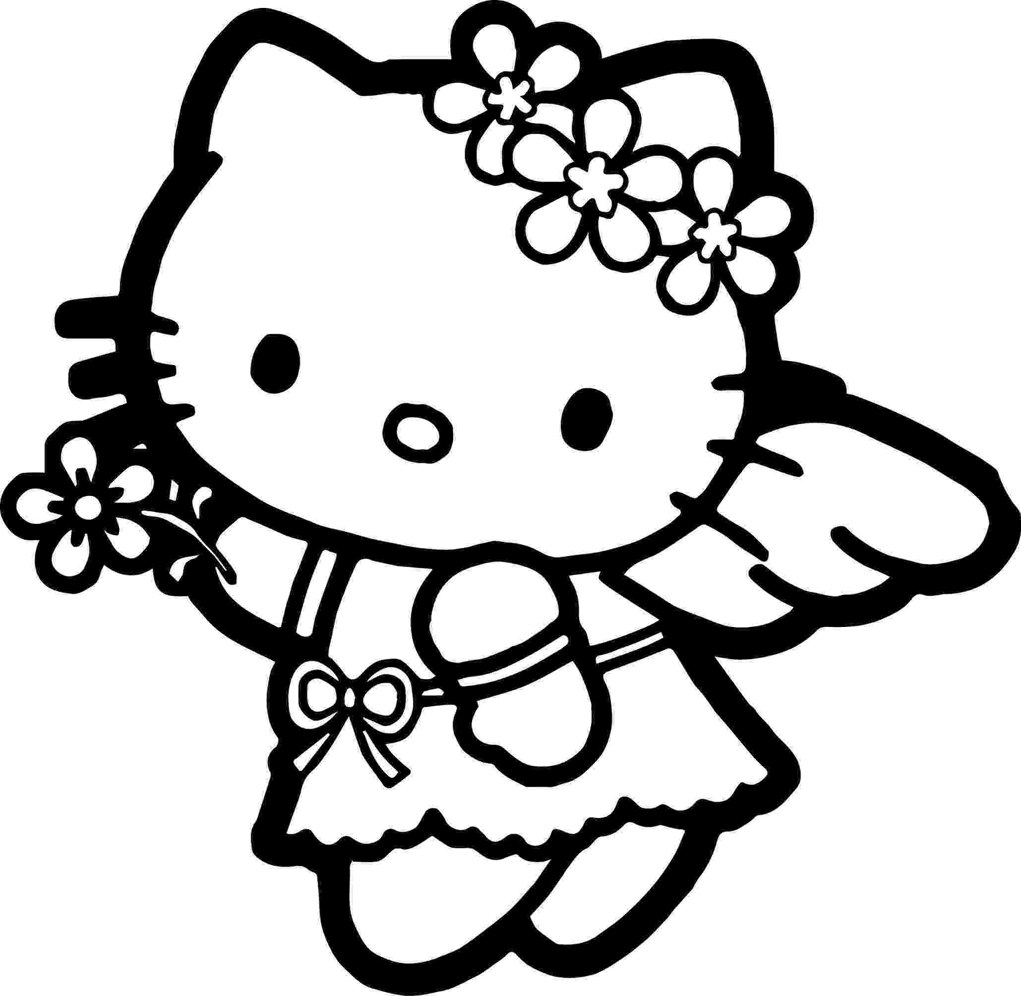 princess hello kitty coloring pages collection of kitty clipart free download best kitty pages hello kitty princess coloring