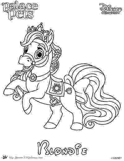 princess palace pets coloring pages free coloring page featuring blondie from disneys pets palace pages princess coloring