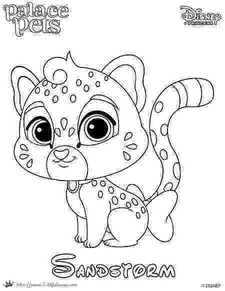 princess palace pets coloring pages free coloring page featuring sandstorm from disneys pages palace pets princess coloring