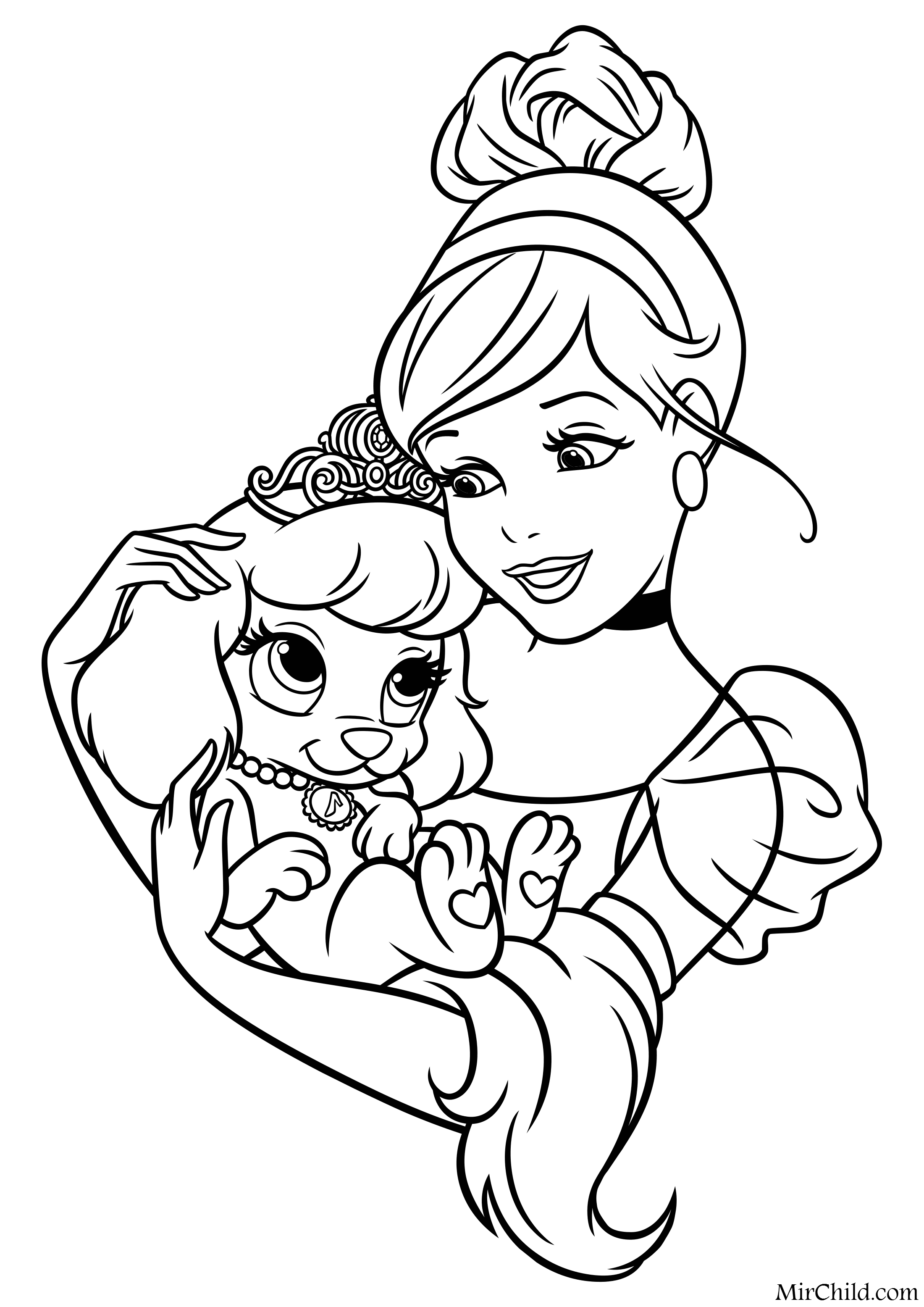 princess puppy coloring pages printable henna strawberry shortcake coloring pages pages coloring puppy princess