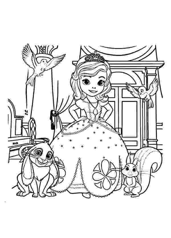 princess sofia printable coloring pages high quality princess sofia coloring pages to print for free printable coloring princess pages sofia
