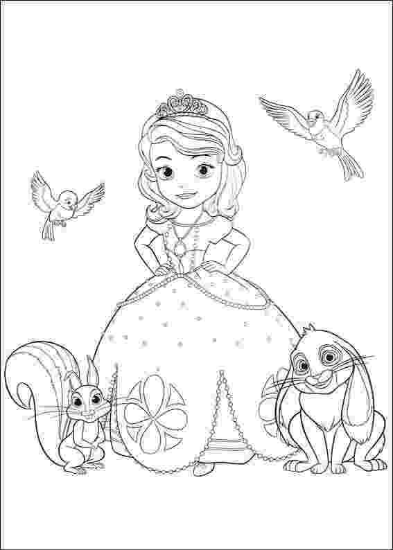 princess sofia printable coloring pages princes sofia to print sofia the first kids coloring pages pages sofia coloring princess printable